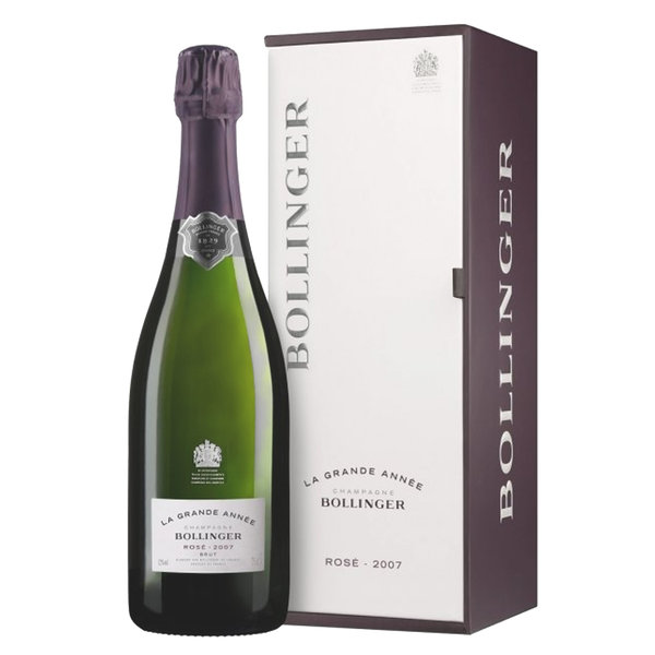 Bollinger La Grande Annee Rose 2007  In giftbox  75CL
