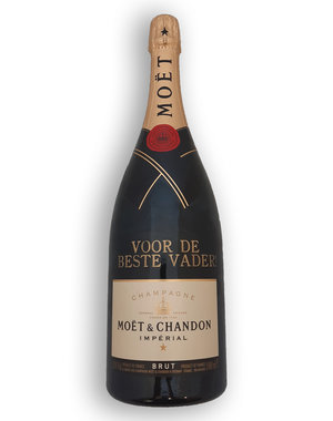 Moët & Chandon Brut 75CL met gouden opschrift