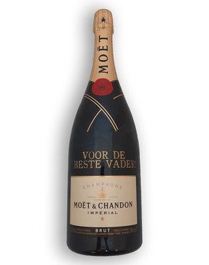 Moët & Chandon Brut 1,5 Liter met gouden opschrift