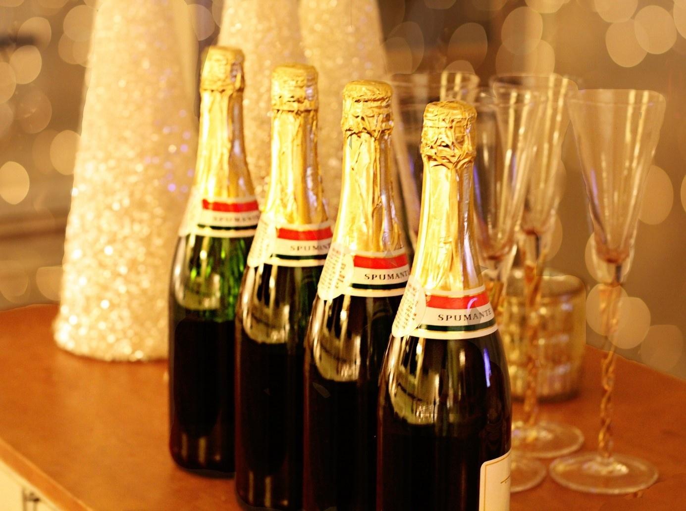 Champagne geven als kerstgeschenk