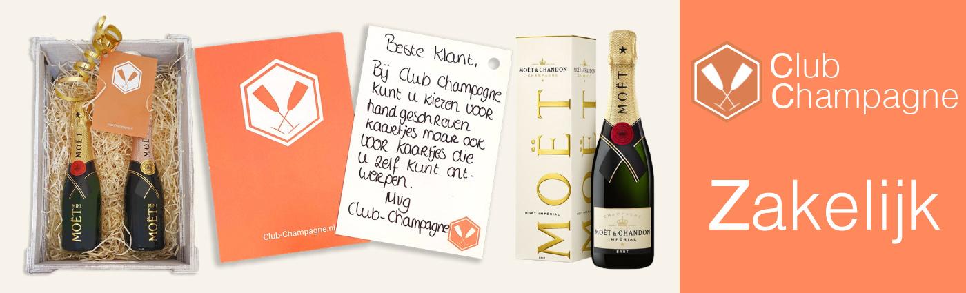 zakelijk champagnes bestellen