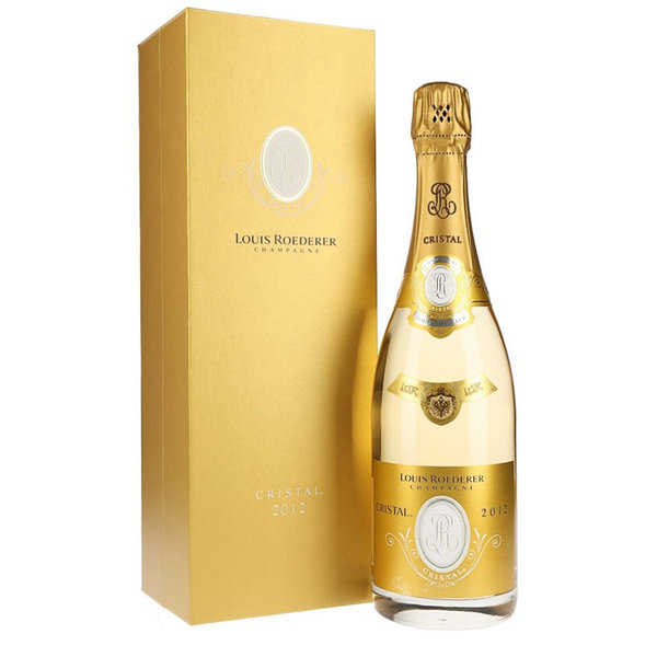 Louis Roederer Cristal 2012 75CL in Giftbox