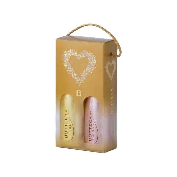 Bottega 2-Pack Piccolo Gold +Rose Gold (2x20cl)