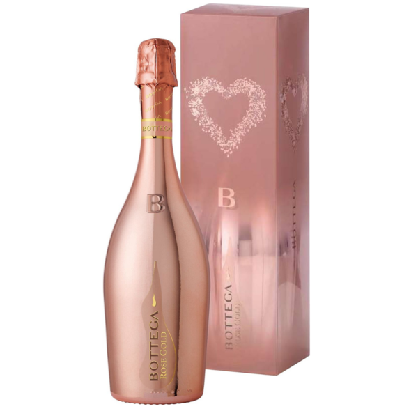 Bottega Rosé Gold in Giftbox