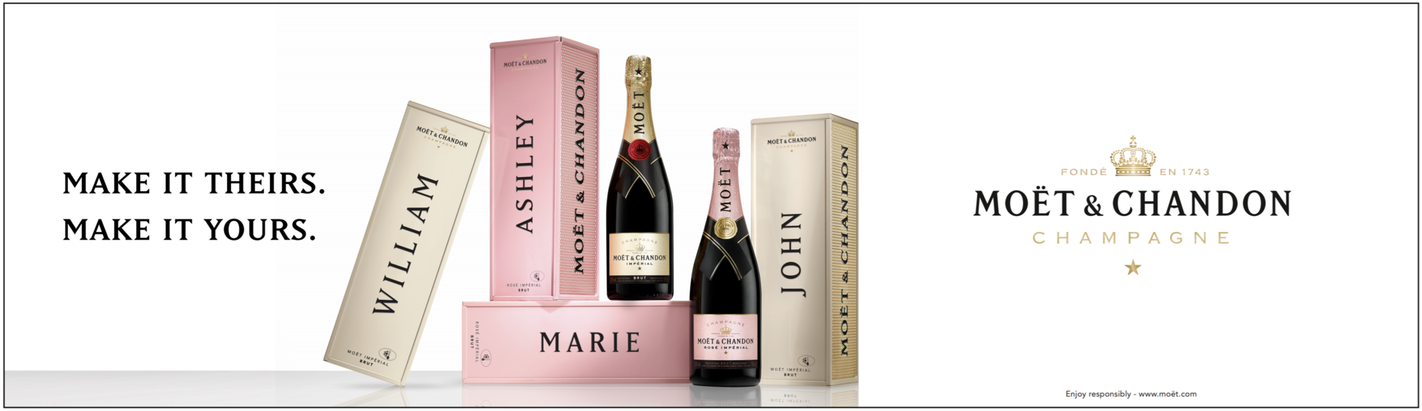 Moet & Chandon specially yours