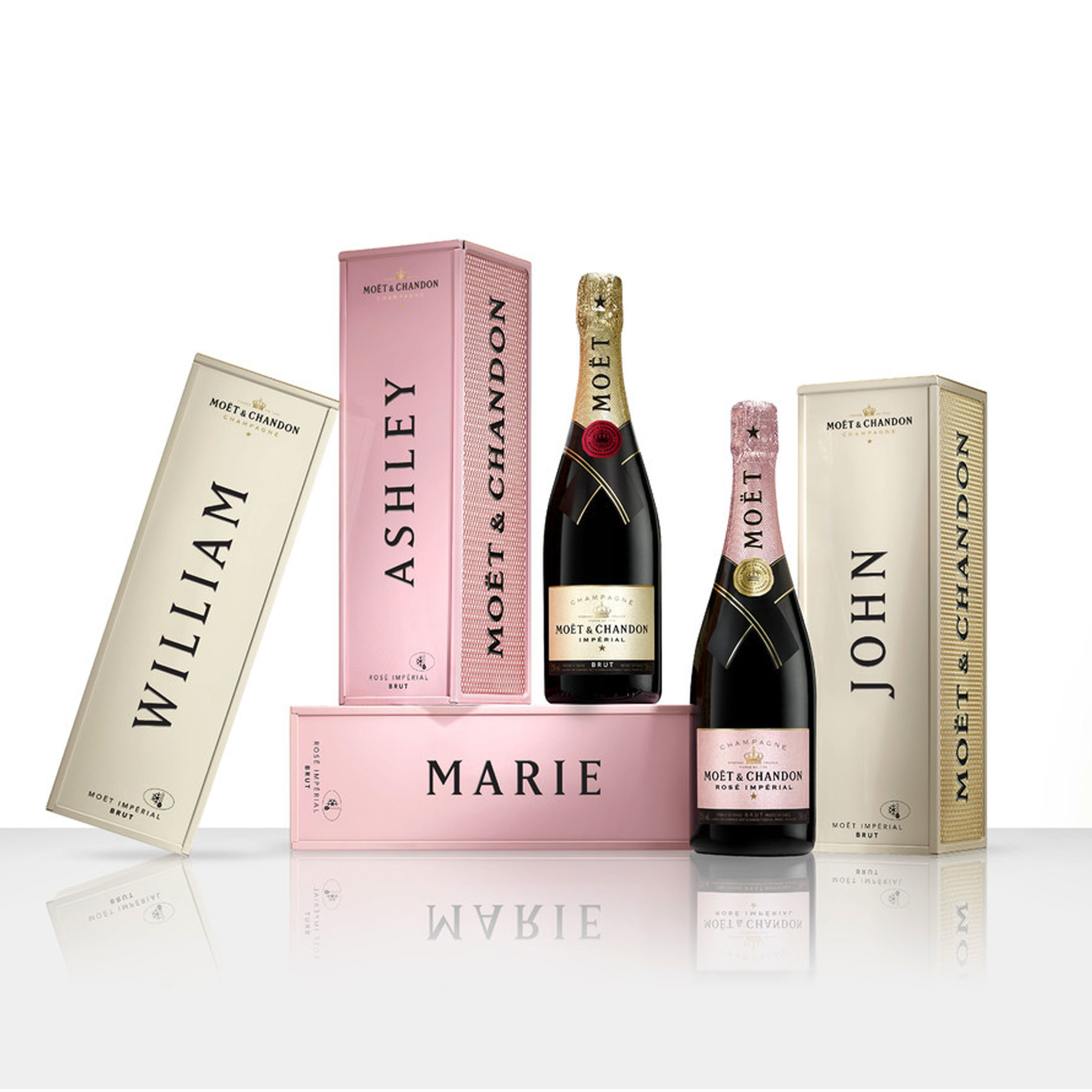 Moet & chandon Rosé specially yours