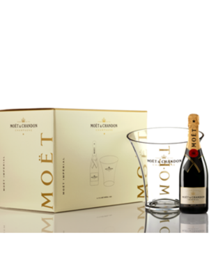 Moët & Chandon Brut 6-pack met koeler