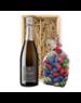 Eric Legrand Paaskist Champagne Brut 75cl met Paaseitjes