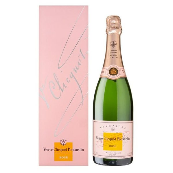 Veuve Clicquot Ponsardin Rosé design box 75CL
