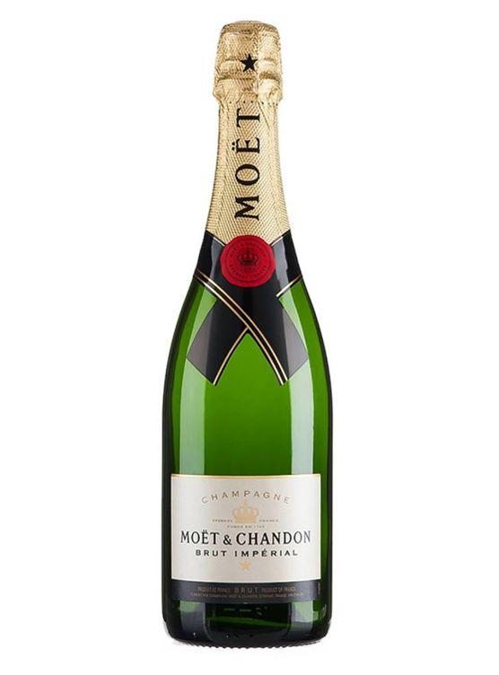 Moët & Chandon Moët & Chandon Brut Impérial in Luxe coffret + 2 flutes 75CL