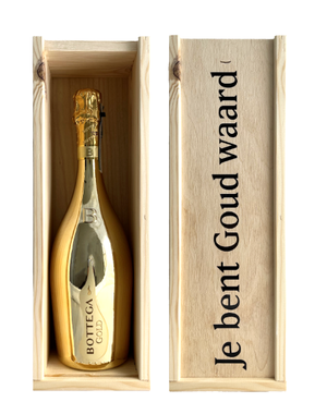 Bottega Gold in geschenkkist met bedrukking