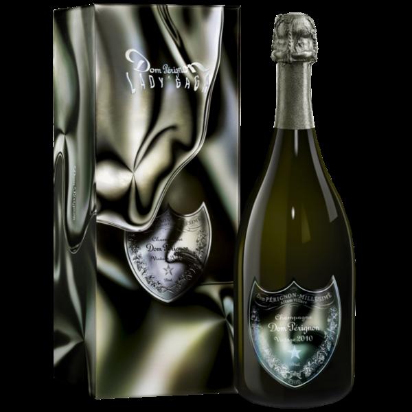 Dom Pérignon Vintage 2010 in Giftbox 75cl  Lady Gaga Limited Edition