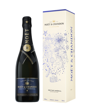 Moët & Chandon Nectar Impérial in End of Year giftbox 75CL