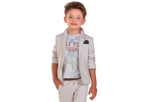 Mayoral Linen Blazer Boy
