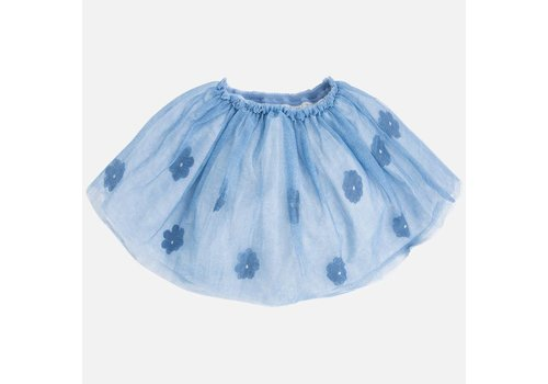 Mayoral Tulle skirt with Application