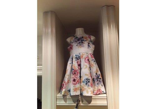 Vinrose Vinrose Kleid Fay weiße Blume
