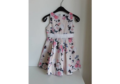 Vinrose Vinrose dress Jill Peach Flower