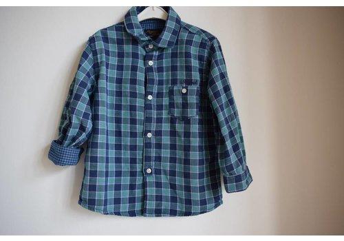 Mayoral Geruite jongens blouse groen/blauw