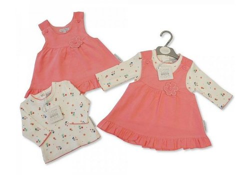 Nursery Time t-shirt long sleeve with pinafore
