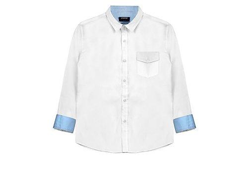 Vinrose Boys blouse vinchenzo white
