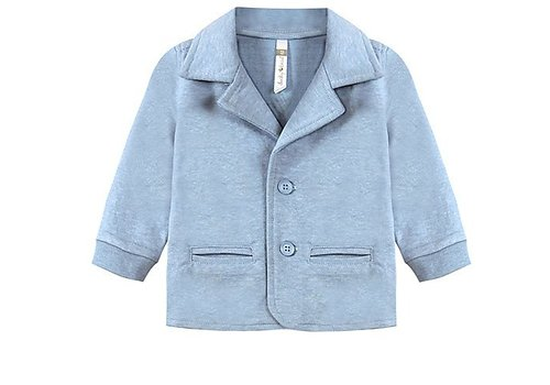 Ducky Beau Vest / blazer light blue baby boy