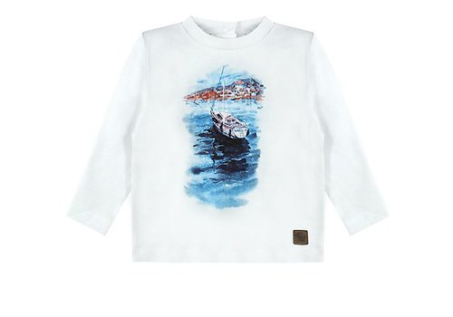 Ducky Beau T-shirt sailing ship boy