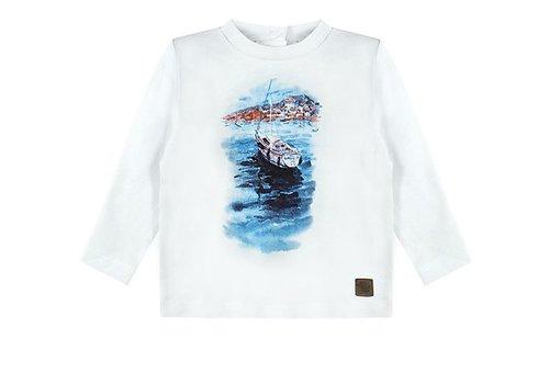 Ducky Beau T-shirt zeilscheepje boy