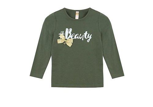 Vinrose T-Shirt Langarm Schönheit