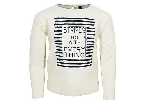 Vinrose T-Shirt ADILA met lange mouwen en print