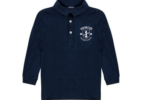 Vinrose Parker Blue Polo with long sleeves