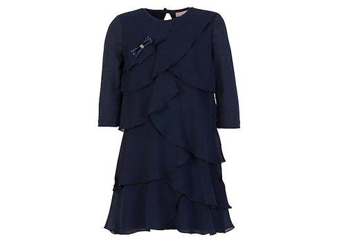 Lialea Donkerblauwe jurk Lialea