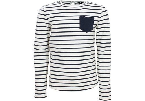 Vinrose CORA Striped T-Shirt with long sleeves