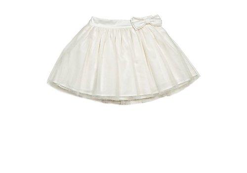 Lialea Off white festive skirt