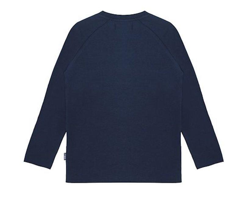 T-Shirt Noah met lange mouwen en opdruk