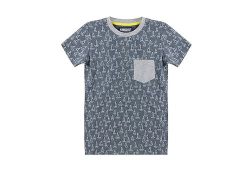 Vinrose T-Shirt Jett mit kurzen Ärmeln