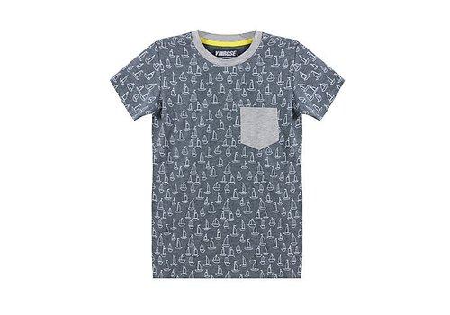 Vinrose T-Shirt Jett with short sleeves