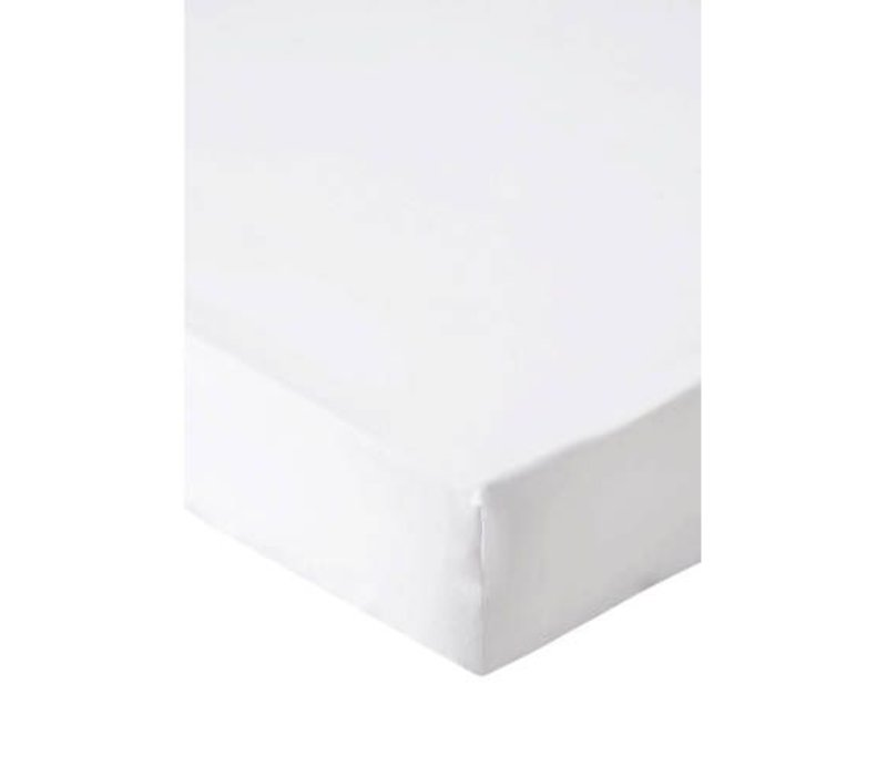 White fitted sheet 120 x 60 x 20