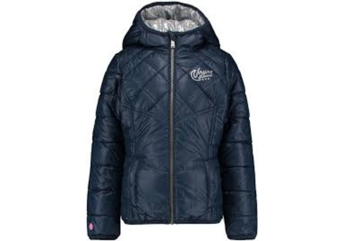 Vingino Girls coat Tariann dark-bleu / silver reversible