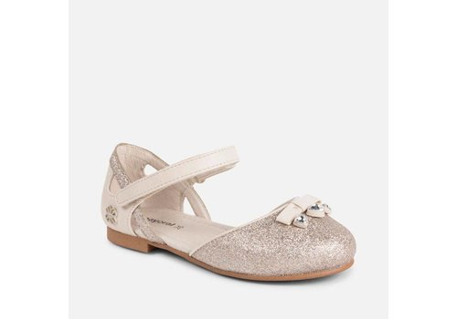 Mayoral Beautiful girl shoes champagne color