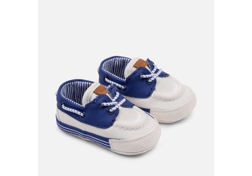 Mayoral Boys' shoes, blue - white