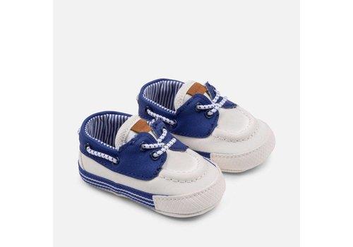 Mayoral Eigenwijze jongensschoentjes, blauw - wit