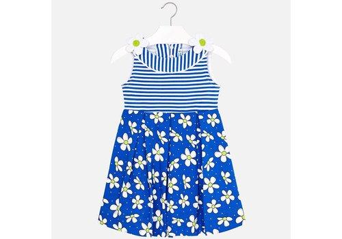 Mayoral Kobaltblauwe jurk