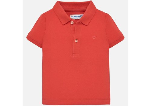 Mayoral Polo orange-red