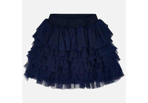Mayoral Beautiful dark blue tulle skirt.