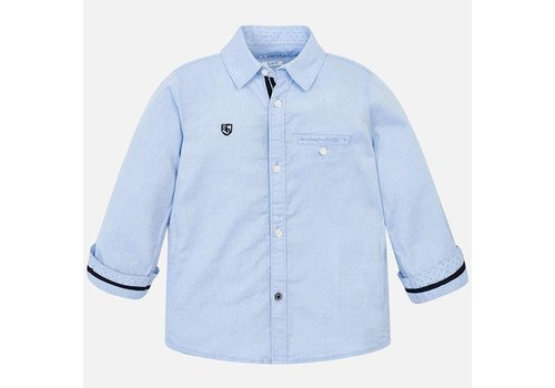 Mayoral Beautiful light blue shirt.