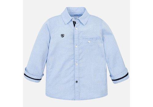 Mayoral Prachtig lichtblauw overhemd.