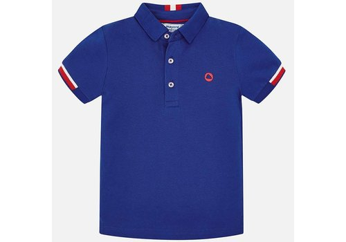 Mayoral Blue polo.