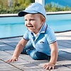 Mayoral Baby polo Cristal blue neon
