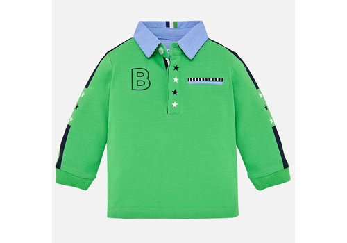 Mayoral Mayoral baby polo groen