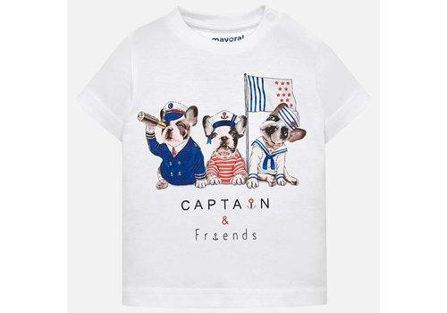 Mayoral Baby T-Shirt weiß